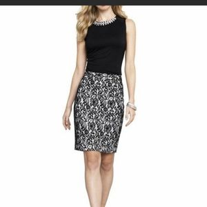 Worthington Lace Pencil Skirt 14